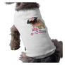 Pug-alicious Girl Dog Tee Shirt