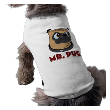 Mr. Pug Dog Shirt