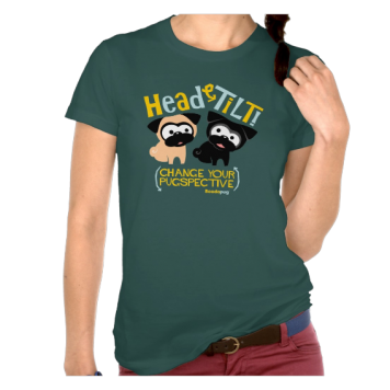 Head Tilt (Gold) T Shirt