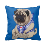 Europug Bear-Pug Pillow