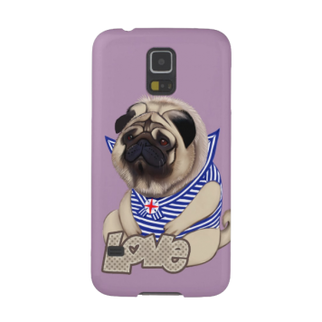 Europug Bear-Pug Galaxy S5 case