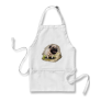 Cute Drawing Pug Apron