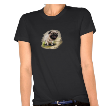 Europug The Little Devil Ladies Organic T-Shirt