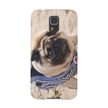 Euro Pug Funny Sailor Samsung Galaxy S5 case