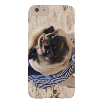 Euro Pug Funny Sailor iPhone 6 case