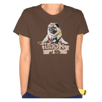Europug Look At Me Women's Hanes Nano T-Shirt