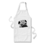 Drawing Pug Face Apron
