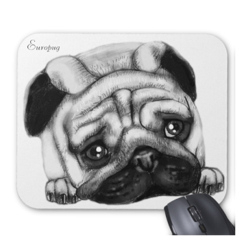 Europug The Sad Face Mousepad