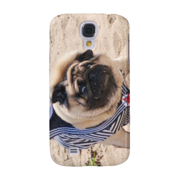 Euro Pug Funny Sailor Samsung Galaxy S4 case