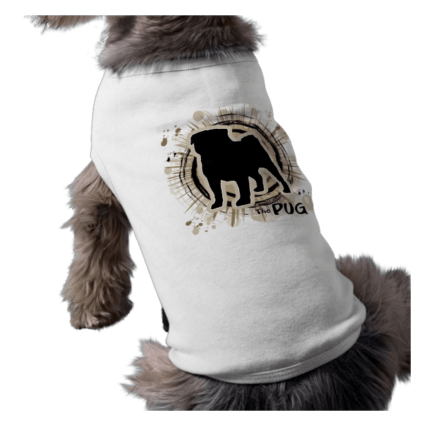 The Pug — Tan Dog Shirt