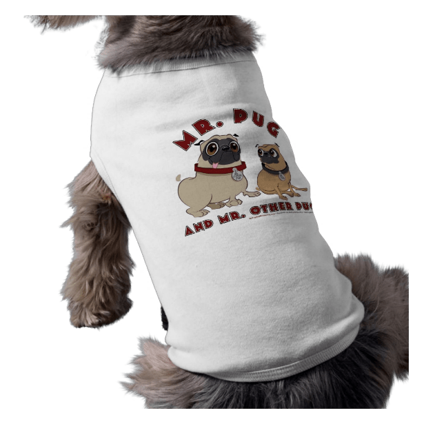 Mr. Pug & Mr. Other Pug Dog Shirt