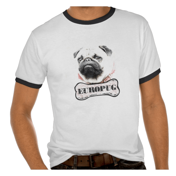 Europug Brutal Face Men's Ringer T-Shirt