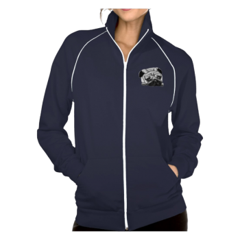 Europug Women's American Fleece Track Jacket