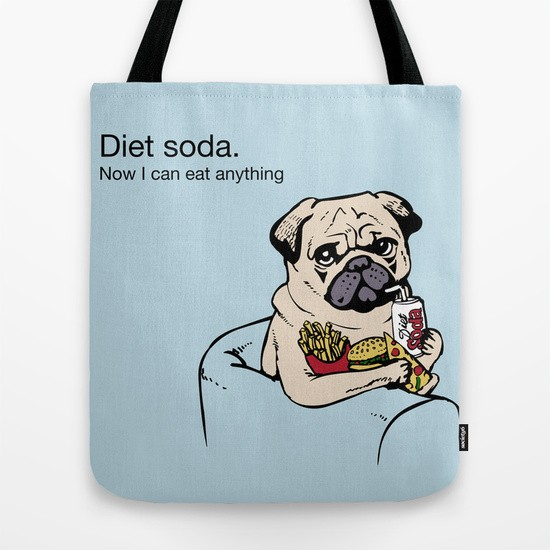 Diet Soda Tote Bag
