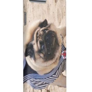 Funny Sailor Pug Dog iPhone / Samsung Galaxy Case