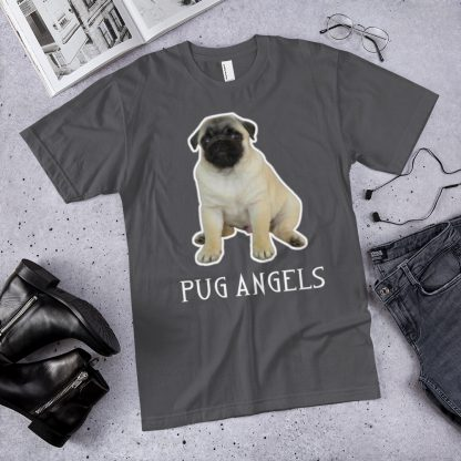 Pug Angels Cute Puppy Dog Men's T-shirt