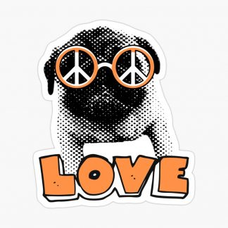 pug-love-sticker