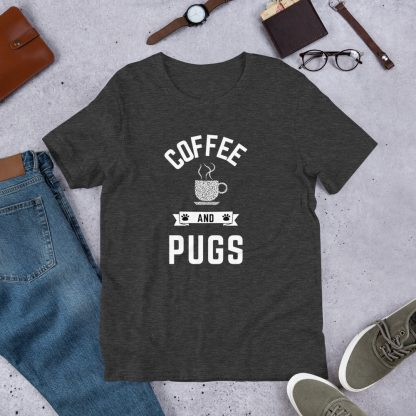 coffee and pugs shirt